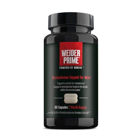Weider Prime stimule la production naturelle de testostérone.