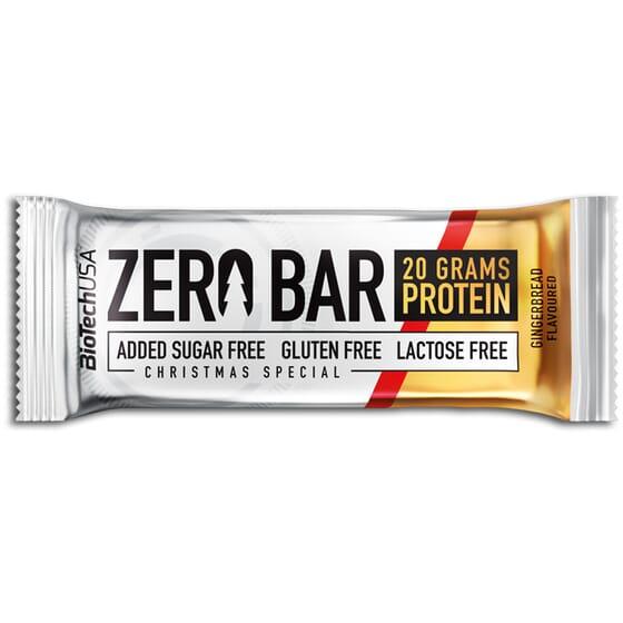 Zéro Bar est une barre protéinée sans sucre.