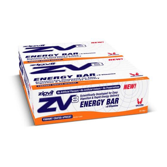 ZV8 Energy Bar es una barrita energética pensada para mantener el rendimiento deportivo.