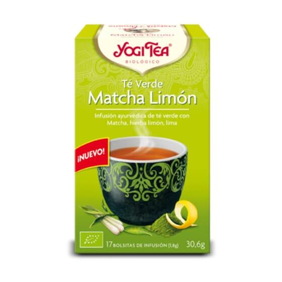 Découvrez le côté le plus bouddhiste avec cet infusion de thé vert matcha au citron de Yogi Tea.
