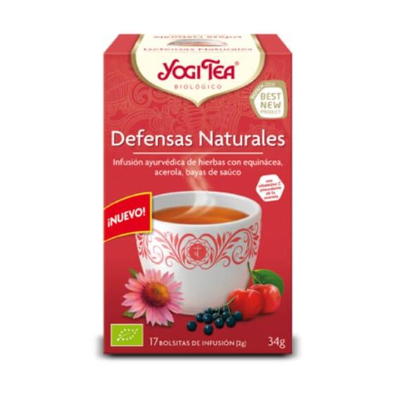 Défenses Naturelles Bio est une infusion ayurvédique biologique pour stimuler les défenses.