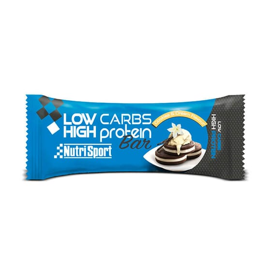 LOW CARBS HIGH PROTEIN BAR 60g da NutriSport