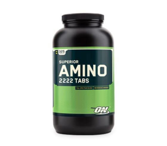Superior Amino 2222 contient des acides aminés micronisés essentiels et non essentiels.