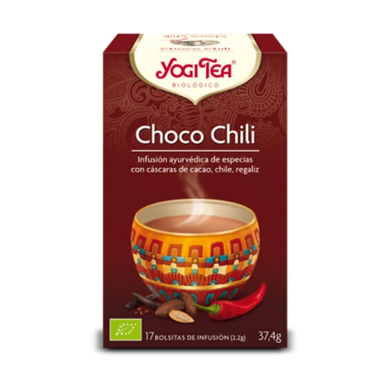 CHOCO CHILI est une infusion excitante de Yogi Tea