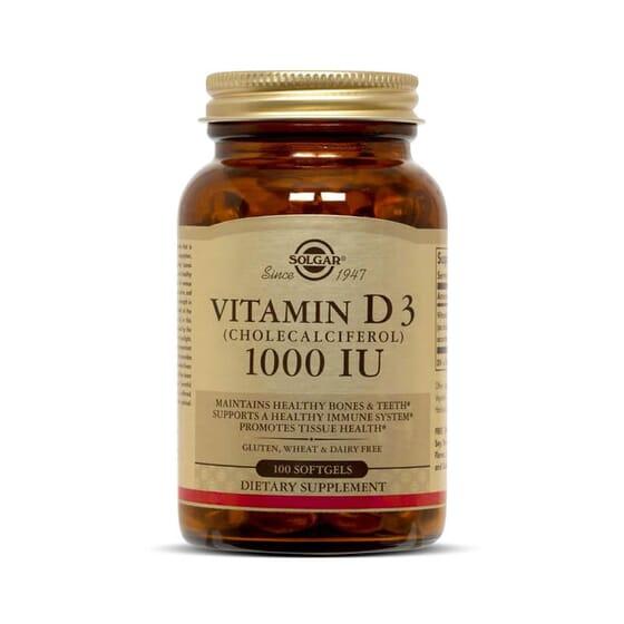 Vitamine D3 aide à préserver la santé des os.