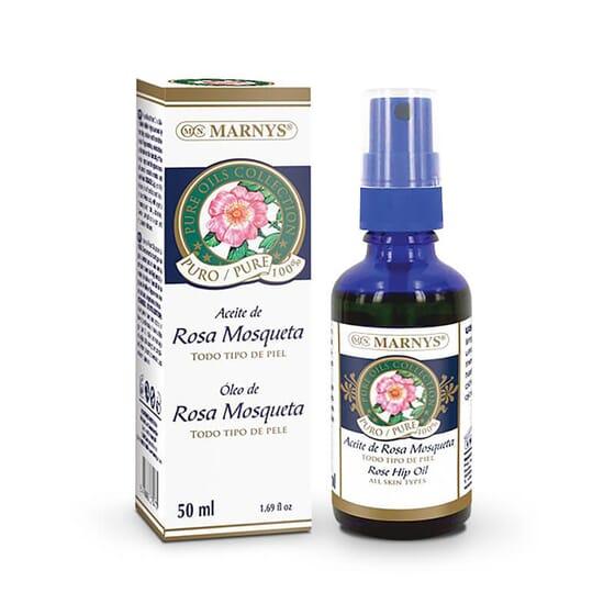 El Aceite de Rosa Mosqueta sirve para cicatrices, estrías y arrugas.