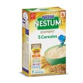 Nestum 5 Cereales alimenta a tu bebé y fortalece sus defensas.