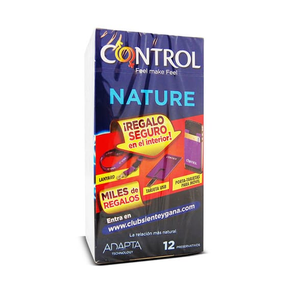 Améliorez vos relations sexuelles avec Control Nature et son adaptabilité maximale.