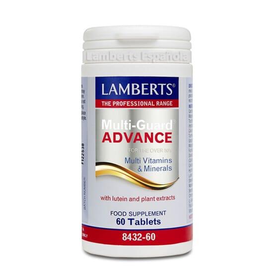 Multi-Guard Advance: vitaminas e minerais para pessoas com mais de 50 anos.