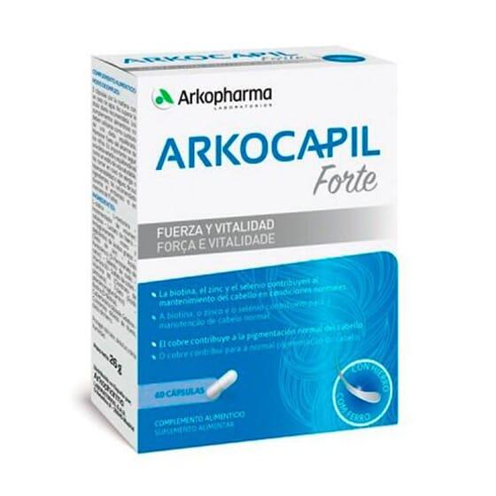 Arkocapil Advance Forte contribue au maintien des cheveux.