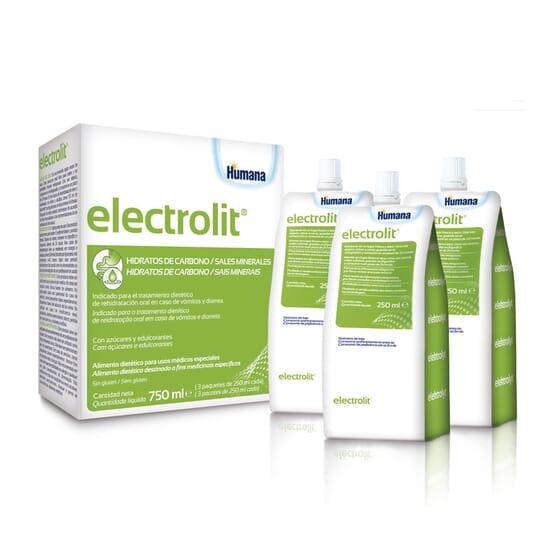 Electrolit est spécialement formulé pour le traitement de la déshydratation.
