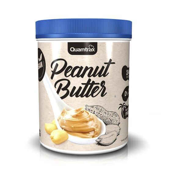 La Crème de Cacahuète de Quamtrax est une source naturelle de protéines végétales.
