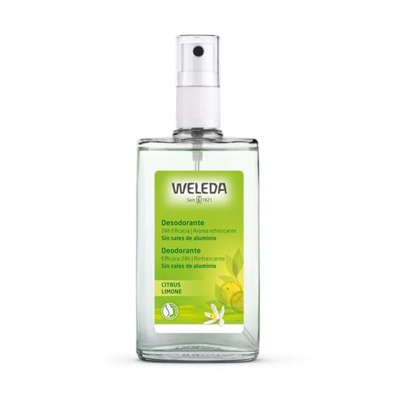 Déodorant au Citrus est naturel et ne contient pas de sels d'aluminium.