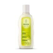 O Champô Equilibrante com Trigo acalma e fortalece o couro cabeludo com tendência à caspa.