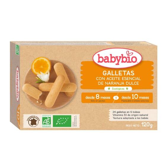 Babybio Petits Boudoirs Bio est adapté pour bébé de 8 ou 10 mois.