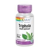 Triphala de Solaray es un complemento ayurvédico para la digestión.