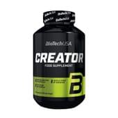 CreaTor que combina 5 tipos de creatinas com ingredientes estimulantes.