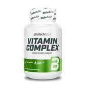 Vitamin Complex, fórmula de 13 vitaminas e 10 minerais.