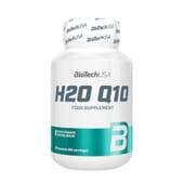 H2O Q10 está formulado à base de coenzima Q10 e vitaminas com capacidade antioxidante.