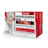 O Kondrosamina SOS Move melhora a flexibilidade articular.