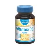 A Vitamina D3 4000 UI é essencial para a manutenção dos ossos.