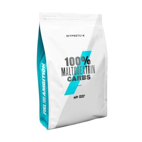 A Maltodextrina recarrega a tua energia durante e após o treino.