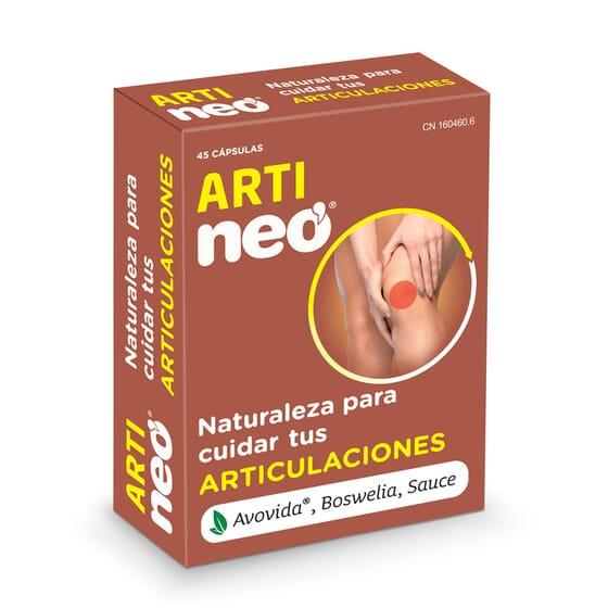 Arti Neo diminui a inflamação articular.