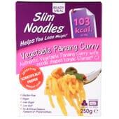 Slim Noodles Vegetable Panang Curry favorece a perda de peso.