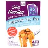 Slim Noodles Vegetarian Pad Thai favorece a perda de peso.