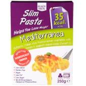 Slim Pasta Mediterrânea favorece a perda de peso.