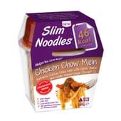 Slim Noodles Chicken Chow Mein ideal para dietas de perda de peso.