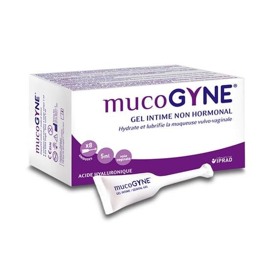 Mucogyne es un gel íntimo no hormonal.