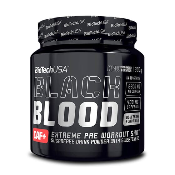 Black Blood Caf+ 300g da Biotech USA