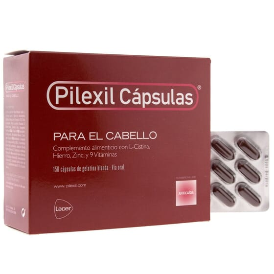 PILEXIL CÁPSULAS ANTICAÍDA 150 Caps