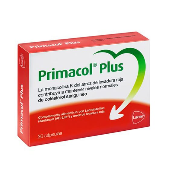 PRIMACOL PLUS 30 Caps de Lacer