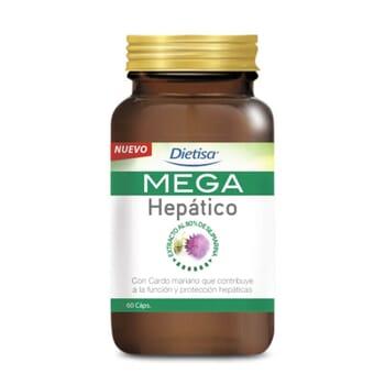 MEGA HEPÁTICO 60 Cápsulas vegetales