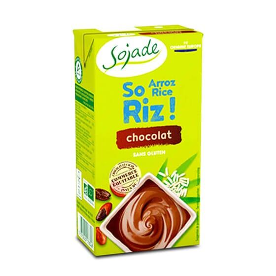 Sobremesa De Arroz Com Chocolate Bio 530g da Sojade