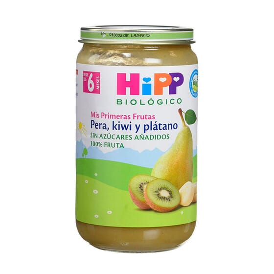 Pera, Kiwi E Banana 250g da Hipp