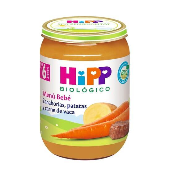 Cenouras, Batatas E Carne De Vaca 190g da Hipp