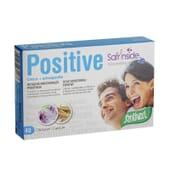 Positive ajuda-te a conseguir um estado de ânimo positivo.