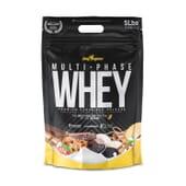 Multi-Phase Whey contient des protéines à libération prolongée.