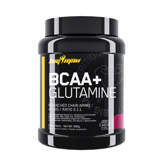 BCAA + Glutamine de BigMan aide à prévenir le catabolisme des protéines musculaires.