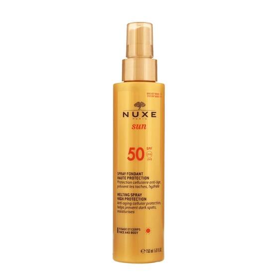 Sun Spray Fundente Alta Proteção SPF50 150 ml da Nuxe