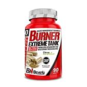Burner Extreme Tank apresenta excelentes componentes com atividade termogénica.