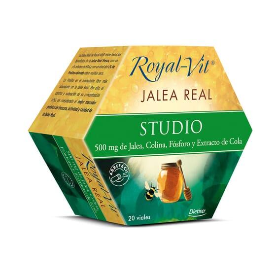 Geleia Real Royal Vit Studio 20 x 10 ml da Dietisa