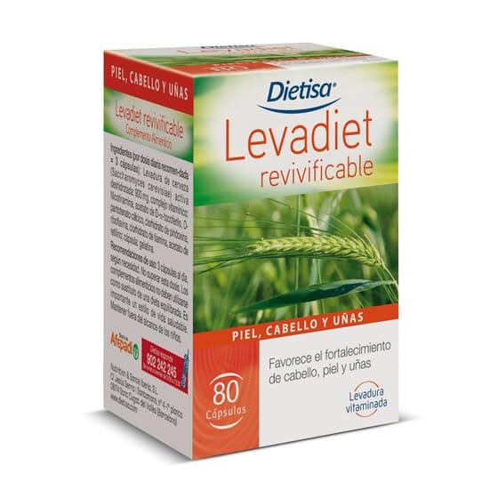 Levadiet Revivificable 80 Caps de Dietisa