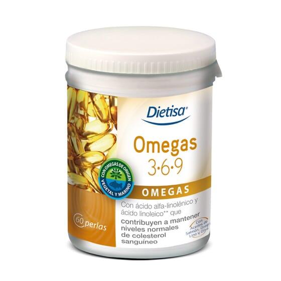Omega 3-6-9 - 60 Pérolas da Dietisa