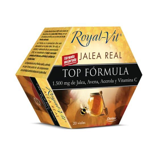 Geleia Real Royal Vit Top Fórmula 20 x 10 ml da Dietisa