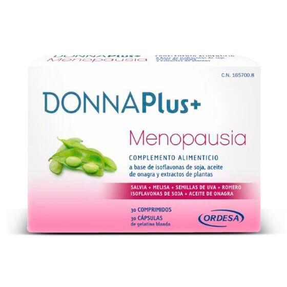 DONNAPLUS MENOPAUSIA 30 Tabs + 30 Caps  - DONNAPLUS