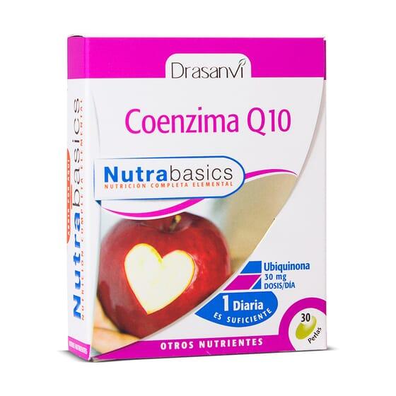 Coenzima Q10 - 30 Pérolas da Drasanvi